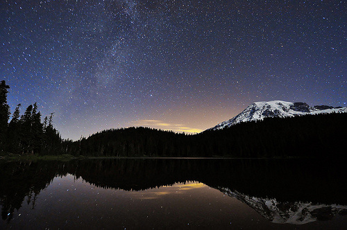 A Night at mt. Rainier