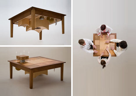 Acoustic Wooden Table Craft