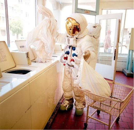 Astronaut Laundromat Newport