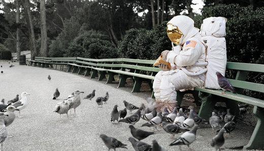 Astronaut Pigeons new web