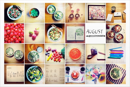 August Cooking