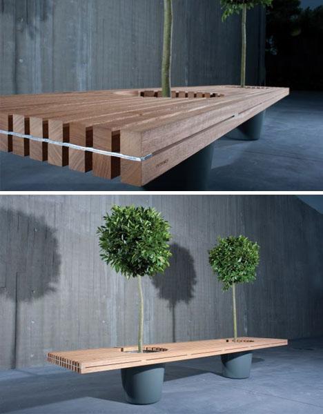 Bench Planter 2