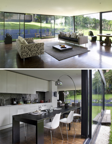 Cantilever Living Dining Rooms