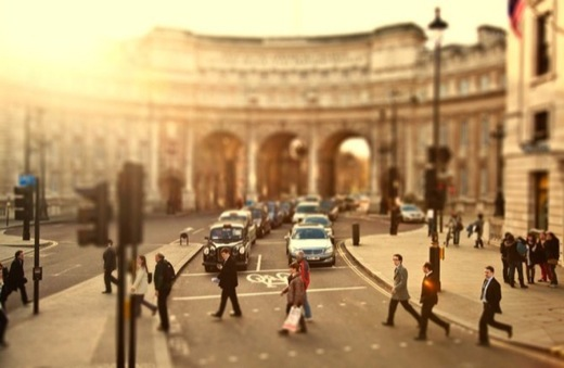 Cities Tilt Shift Photography by ben Thomas 11