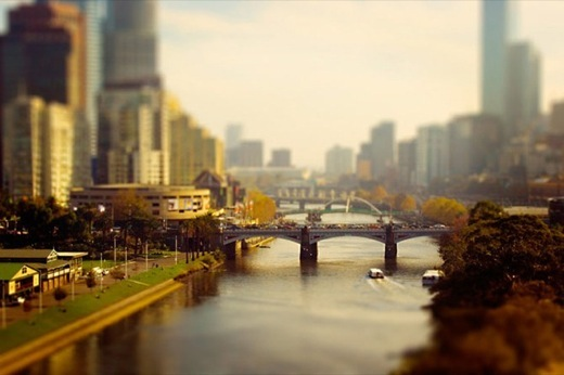 Cities Tilt Shift Photography by ben Thomas 17