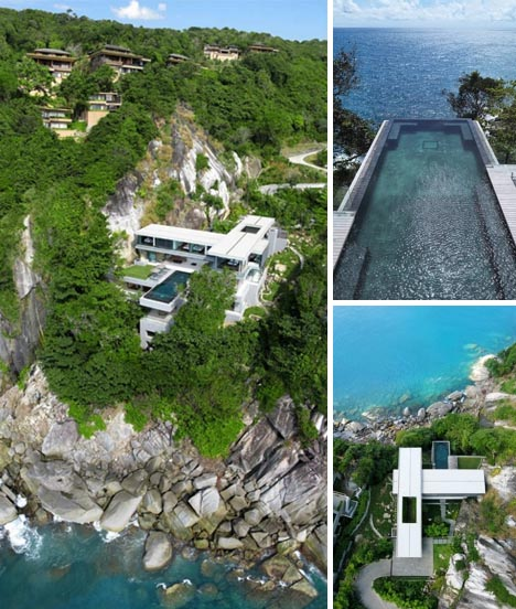 Cliff top Ocean Home