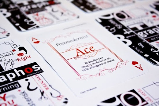 Design Fetish Typographic Playing Cards 11