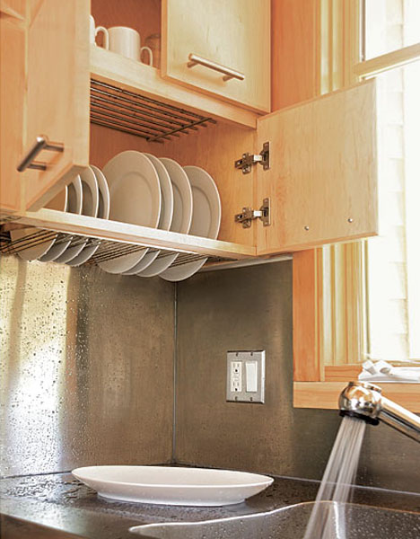 Dish Drying Closet Design