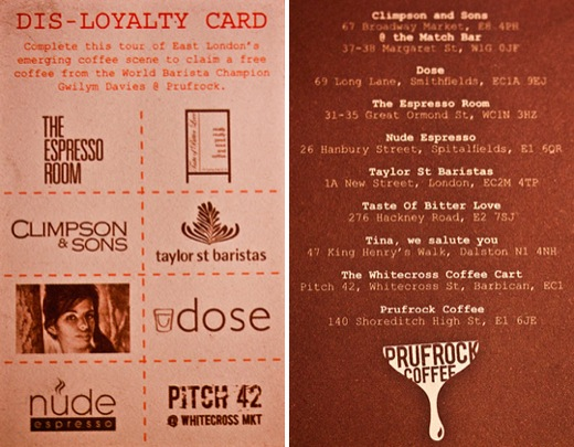 Disloyalty Card