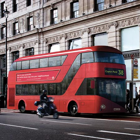 Dzn London bus 3 sq
