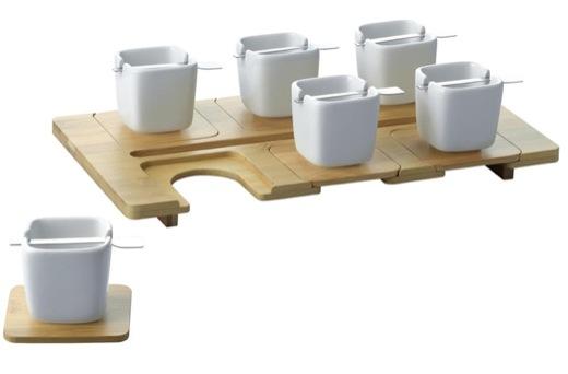 Espresso Cups + Tray