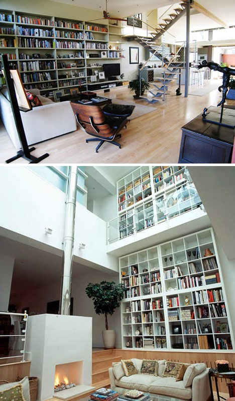 Floor Ceiling Wall Bookshelves