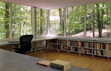 Forest Loft Sliding Windows