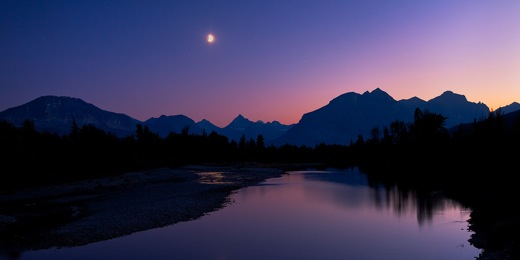 Glacier   Moonrise