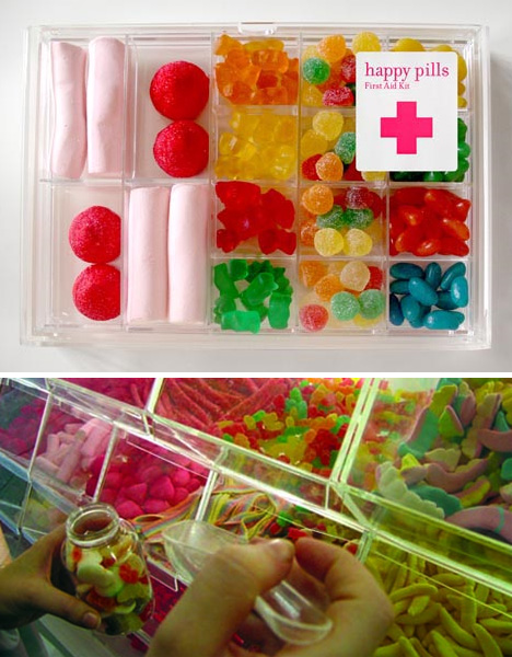 Happy Pills Candy Store Design