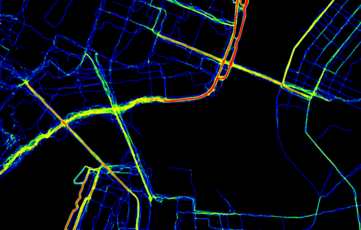 Heatmap Bridges 800