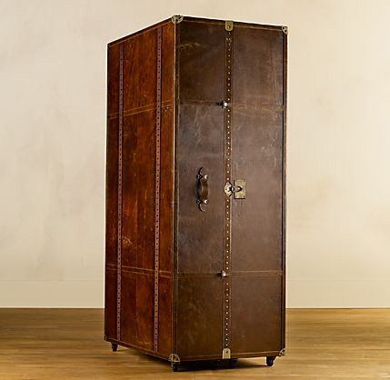 Mayfair Steamer Secretary Trunk