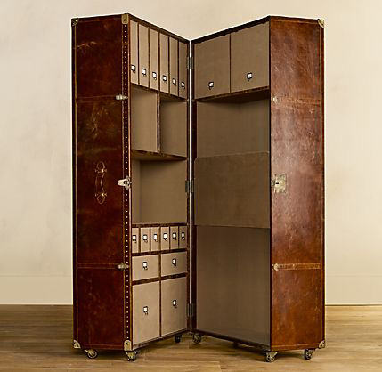 Mayfair Steamer Secretary Trunk 1