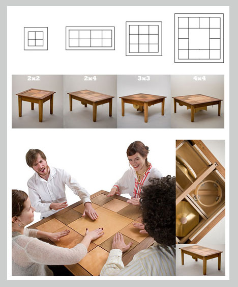 Musical Interactive Acoustic Furnishings