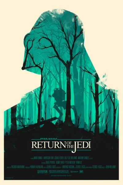 Olly Moss Return of Jedi 550x 825
