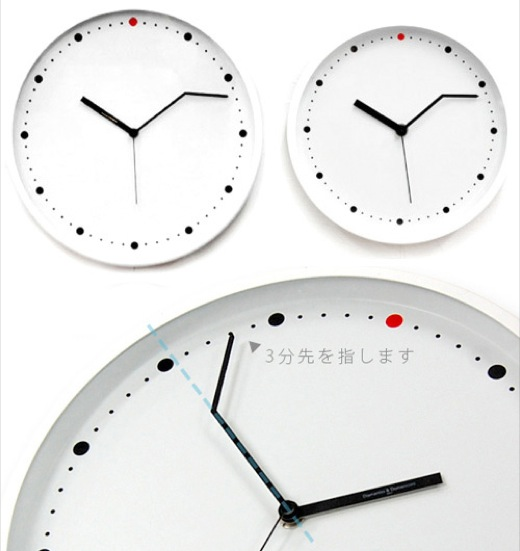 On Time Wall Clock 3min