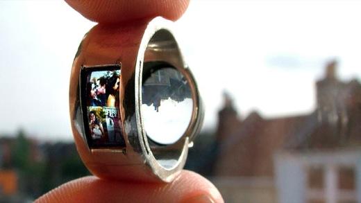 Projecting Ring Luke Jerram