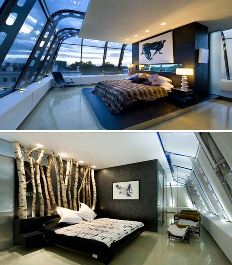 Rooftop Creative Bedroom Decor