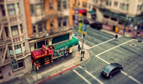 San Francisco - Tilted