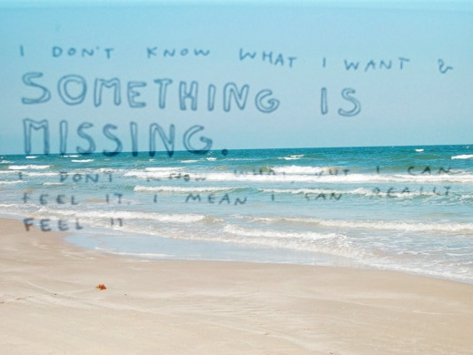 Somethingismissing
