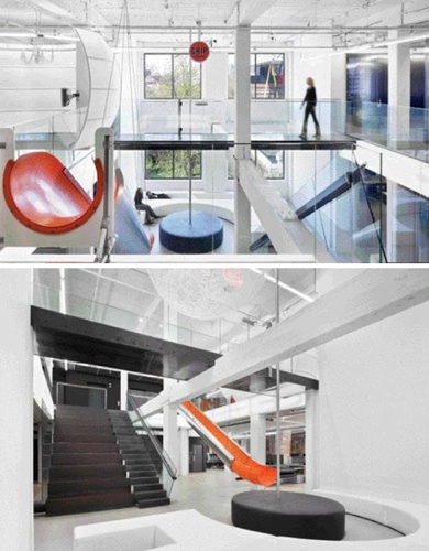 Stair Slide Office Combination