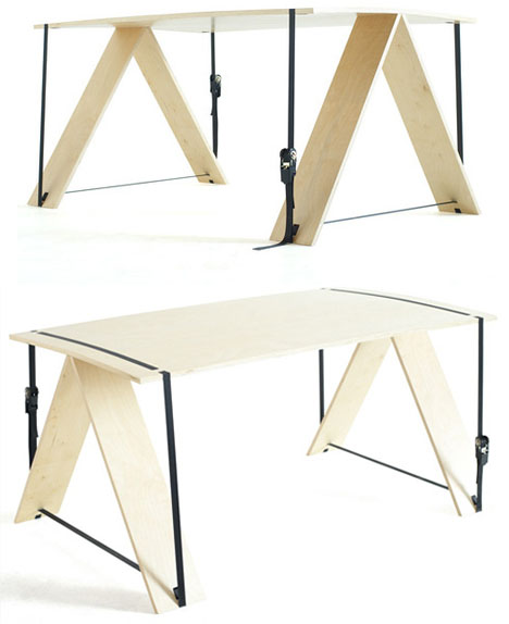 Strapped in Table Design