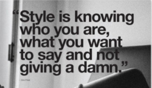 styleisknowing