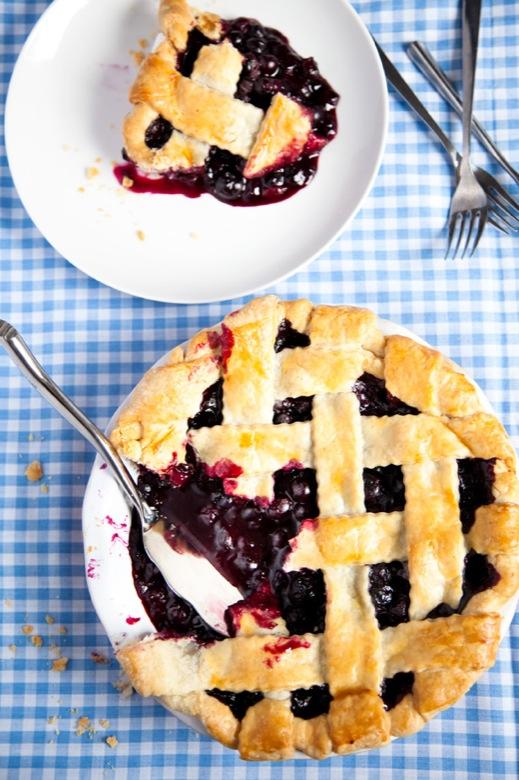 Summer Blueberry Pie