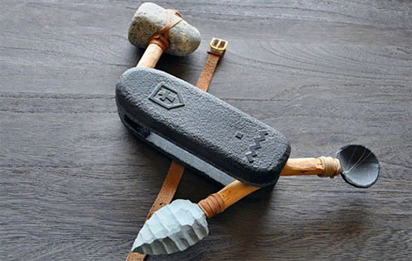 Swiss Army Knife Stone age Prototype