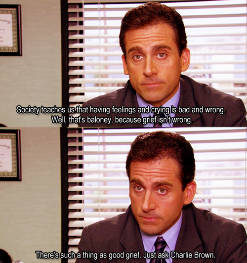 The Office - Grief Counseling