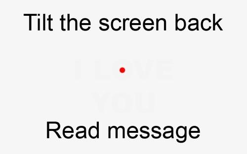 tiltthescreenback