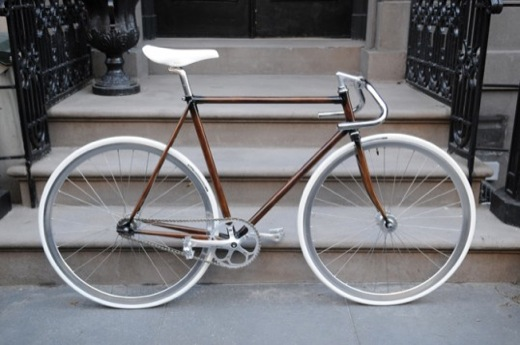 Woodgrain Bike Frame