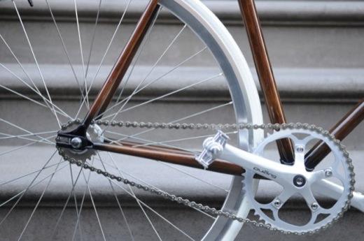 Woodgrain Bike Frame 1